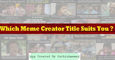 Which Meme Creator Title Suits You ?
