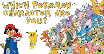 Which Pokemon Character are you?