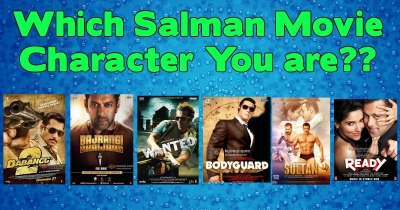 Which Salman Movie  Character You Are?