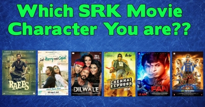 Which SRK Movie  Character You Are?