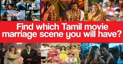 Which Tamil movie marriage scene you will have?