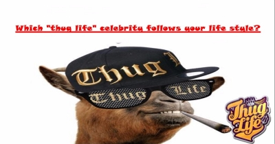 """Which """"thug life"""" celebrity follows your life style?"""