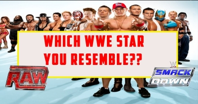 Which WWE star you resemble?