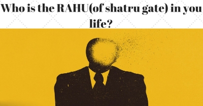 Who is the RAHU(of shatru gate) of your life?
