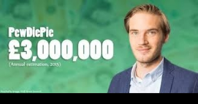 WORLD BEST YOUTUBER-Sweden's PewDiePie is the most popular YouTuber in the world
