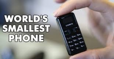 -'world's smallest mobile phone', the Zanco tiny t1